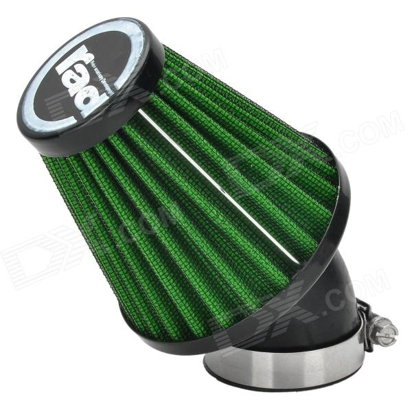 Rad Universal Replacement 42mm Caliber Air Filter for Motorcycle / Scooter - Green + Black epman universal 3 aluminium air filter turbo intake intercooler piping cold pipe ep af1022 af