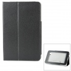 Protective PU Leather + Micro Fiber Case for HUAWEI S7-931 7Lite - Black
