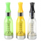 CE4 Electronic Cigarette Atomizer for EGO EGO-T EGO-W EGO-K - Transparent + Green + Yellow