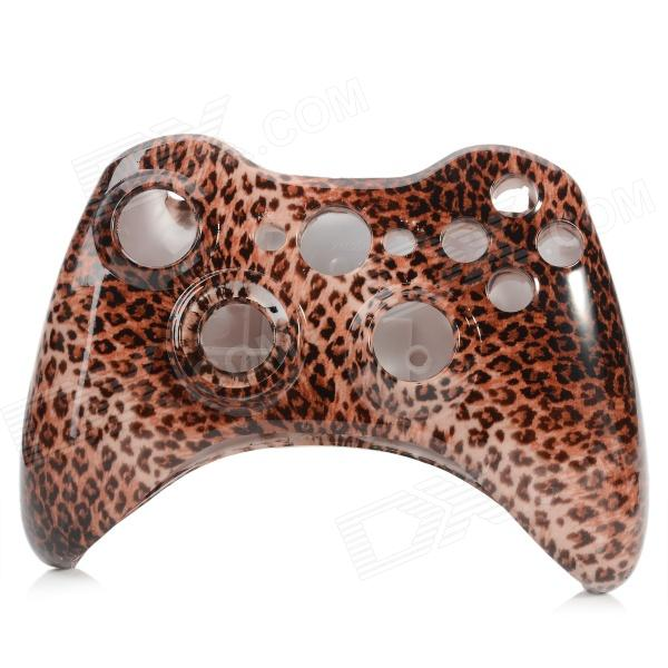 XBOX 360 Wireless Controller Replacement Shell - Brown + Black