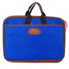 "Protective Portable Nylon Tote Bag for 13"" MacBook Pro / Air / 11"" MacBook Air - Blue + Brown"