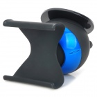Universal 360 Degree Rotational Car Mount Holder for Iphone 4 / 4S / 5 - Black + Blue