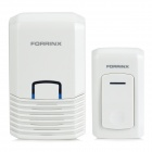 Forrinx F Waterproof Wireless Digital Doorbell Set - White