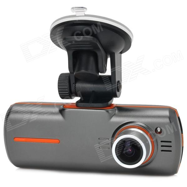 H802 HD 5.0MP Wide Angle Wide Dynamic Car DVR w/ Night Vision / 4X Optical Zoom / AV-out / HDMI