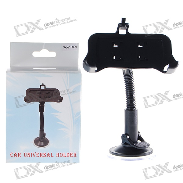 Universal Car Windshield Swivel Mount for Nokia 5800
