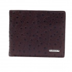 BEIDIERKE B016-204 High-Grade Head Layer Cowhide Wallet - Brown