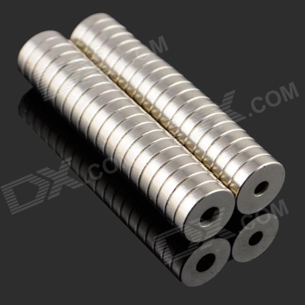 8 x 3-3mm NdFeB Neodymium Magnet Circular Cylinder DIY Puzzle Set - Silver (20 PCS)Magnets Gadgets<br>BrandN/A  ModelN/A  Quantity20 piece(s) per packColorSilver MaterialNdFeB  SpecificationMagnetization direction: N S pole on both ends of the plane; Maximum working temperature: 80C  Other FeatureGreat for DIY projects such as ammeter, instrument, electric motor, automatic control, microwave device, radar and medical equipment  Packing List20 x Magnets<br>