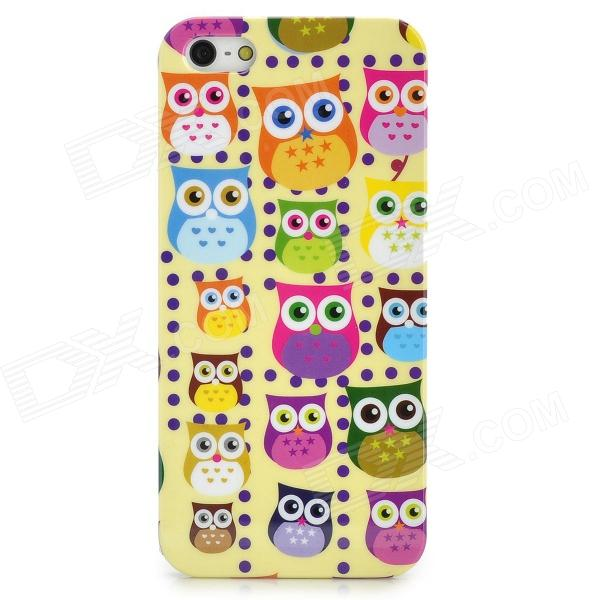 все цены на  Colorful Owl Style Protective Plastic Back Case for Iphone 5 - Multicolor  онлайн