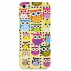 Colorful Owl Style Protective Plastic Back Case for Iphone 5 - Multicolor