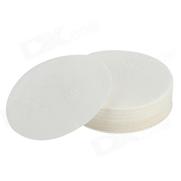 Hand Drip Round Coffee Paper Filter - White (1 x 100 PCS)