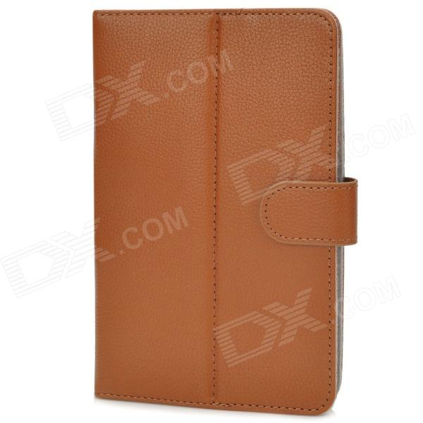 Stylish Universal PU Leather Case w/ Holder for 7