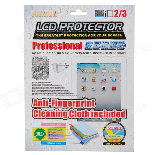 PROJECT DESIGN Anti-Fingerprint Clear PET Screen Protector for Ipad 2 / 3