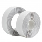 04687 Convenient Velcro Tape w/ Double Faced Adhesive Back - White (150cm)