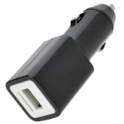 Easy Way Car Cigarette Powered USB Adapter / Charger - Black (DC 12V)