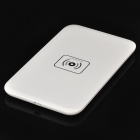 Qi Standard Wireless Charging Transmitter / Receiver Set for Samsung i9500 - White (EU Plug)
