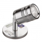 Hugewin SDJ403M 3W 200lm 3500K Warm White Spot Light w / Basis (85 ~ 265V)