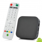 Mini Quad Core Android 4.2.2 Mini PC w/ ROM 8GB / RAM 1GB / Remote Control - Black (US Plug)