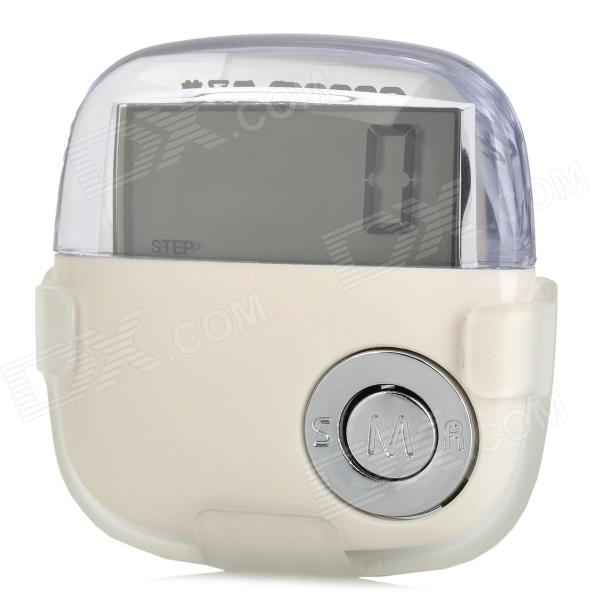 AOEOM AP-J9665 1.5 LCD Sports Pedometer Step / Calorie / Distance Counter - White (1 x LR1130) браслет power balance бкм 9665