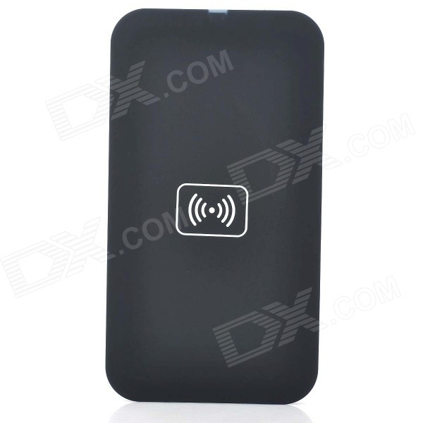 Universal Qi Standard Wireless Charging Transmitter Pad for Nokia 920, Nexus 4, Samsung S4 - Black universal qi wireless charger for cellphone black