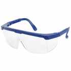 YJ0021 PC Eye Safety Protection Brillen - Blau + Transparent