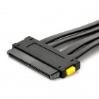 SAS 32pin to 4 x SATA Adapter Data Cable - Black (50cm)
