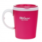 Beduso BDX-1116 Fashion Cup - Deep Pink + White (300ml)