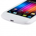 "A209W Android 4.0.9 Dual-Core WCDMA Bar Phone w/ 4.0"" Capacitive Screen, FM, GPS and Wi-Fi - White"
