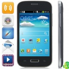 "Mini i9500 Android 2.3.6 GSM Bar Phone w/ 4.0"" Capacitive Screen, Quad-Band and Wi-Fi - Black"