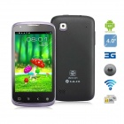 "Beidou LA-I2 Android 4.0 Dual-Core 8225 1.2GHz 3G Phone w/ 4.0"" TFT, 4GB ROM, 5.0MP Camera - Black"