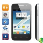 "Mini 7100 Android 4.0 GSM Bar Phone w/ 3.5"" Capacitive Screen, Wi-Fi and Quad-Band - Black"