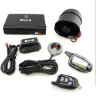 M7 Russian Version Two-Way Car Alarm System - Black