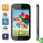 "BML S4 (SPHS on Hsdroid) Android 4.1 GSM Bar Phone w/ 5.0"" Screen, Quad-Band and Wi-Fi - Black"