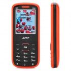 "JHT G1 GSM Bar Phone w/ 1.8"" LCD Screen, Dual-SIM, Bluetooth and FM - Black + Red"