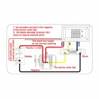 "0.28"" LED 3-Digital DC Voltage Current Meter (0~100V / 50A)"