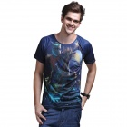 XING LONG 001 3D Animation Game T Shirt for Men - Multicolored (Size-XL)