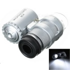 45X Microscope with 2-LED Illumination - Silver (3*LR927)