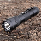 HT-5 Cree XP-G Q5 230lm 5-Mode Cool White Flashlight w/ Clip - Black (1 x 18650)