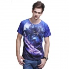 XING LONG 002 3D Animation Game T Shirt for Men - Multicolored (Size-XL)