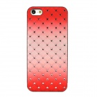 Luxury Bling Crystal Back Case for Iphone 5 - Red