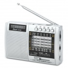 Shouyu SY-X5 Full-Band DSP Radio w/ TF / Antenna - Silver + Black (3 x AA)