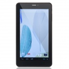 "S-100 7.0"" Screen Dual-Core Android 4.2.2 Tablet PC w/ 512MB RAM, 4GB ROM, 2G Phone - White + Black"
