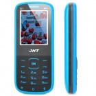 "JHT G1 GSM Bar Phone w/ 1.8"" LCD Screen, Dual-SIM, Bluetooth and FM - Black + Blue"