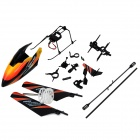 WLtoys KV911-0001 4Ch RC Helicopter Spare Parts Accessories Set - Black + Orange + White (19 PCS)