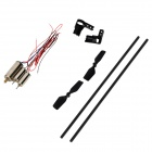 WLtoys KV911-0004 RC Helicopter Spare Parts Set for V911 - Black + White + Silver (11 PCS)