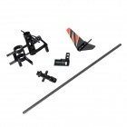 WLtoys KV911-0003 R/C Helicopter Spare Parts Accessories Set for V911 - Black + Orange (6 PCS)