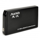 "MAIWO K3505AU2IS 3.5"" IDE+SATA Serial + Parallel Dual Port Disk Enclosure for Desktop Computer (2TB)"