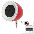 Грибовидная Mini Speaker для iPhone 4S / 5 / Ipad 4 - красный