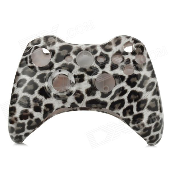 все цены на Leopard Print Pattern Replacement Housing Case Set for XBOX 360 Wireless Controller  - Black + White онлайн