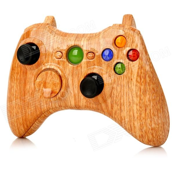 Stylish Protective ABS Case Whole Set for Xbox 360 Wireless Game Controller - Light Brown