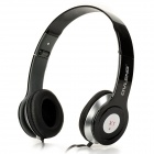 OVLENG X1 Universal Wired 3.5mm Jack Headset for Iphone / Samsung / Ipad / Ipod + More - Black